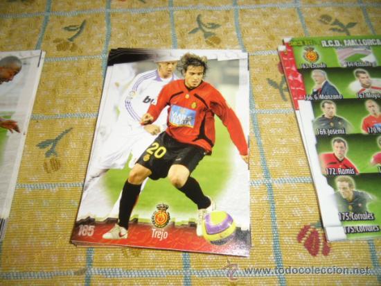 LA FICHA DE LA LIGA 2008 2009 MUNDICROMO FUTBOL MALLORCA TREJO (Coleccionismo Deportivo - Álbumes y Cromos de Deportes - Cromos de Fútbol)