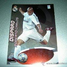 Cromos de Fútbol: ERROR 409 ROBERTO CARLOS MEGA MAESTROS REAL MADRID CROMOS ALBUM MEGACRACKS 2006-2007 06-07 PANINI. Lote 28656417