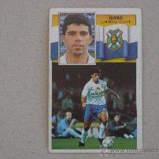 Cromos de Fútbol: ESTE 90-91 ISIDRO TENERIFE 1990-1991 . Lote 28690742