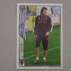 Cromos de Fútbol: FICHAS LIGA 2005 Nº 904 CAMACHO ZARAGOZA 04-05 MUNDICROMO 2004-2005 NUEVO. Lote 28837917