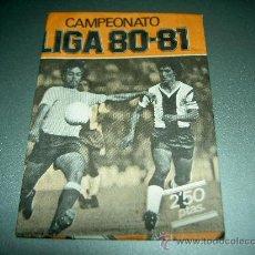 Cromos de Fútbol: SOBRE VACIO VERSION NARANJA CROMOS ALBUM LIGA FUTBOL EDICIONES ESTE 1980-1981 80-81 . Lote 28726897