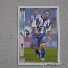 Cromos de Fútbol: FICHAS LIGA 2005 Nº 75 MUNITIS DEPORTIVO CORUÑA 04-05 MUNDICROMO 2004-2005 NUEVO. Lote 28781196