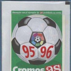 Cromos de Fútbol: CROMOS DE LA LIGA 95 96 - AS. Lote 28809081