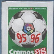 Cromos de Fútbol: CROMOS DE LA LIGA 95 96 - AS. Lote 28809087