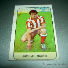 Cromos de Fútbol: CROMO FICHAJE 27 JAVI AT. MADRID CROMOS ALBUM EDICIONES ESTE LIGA FUTBOL 78 79 1978 1979. Lote 28814097