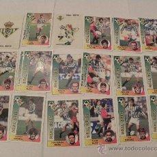 Cromos de Fútbol: REAL BETIS 18 CROMOS 94 95 EQUIPO COMPLETO PANINI NUEVOS 1994 1995. Lote 263191555