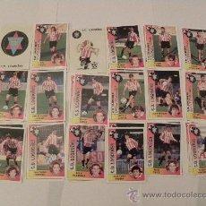 Cromos de Fútbol: CD LOGROÑES 18 CROMOS 94 95 EQUIPO COMPLETO PANINI NUEVOS 1994 1995. Lote 175727124