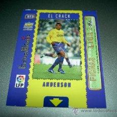 Cromos de Fútbol: 573 ANDERSON MAGIC CARD VILLARREAL CROMOS ALBUM MUNDICROMO FICHAS LIGA FUTBOL 2004-2005 04-05. Lote 30103152