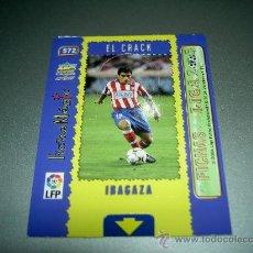 Cromos de Fútbol: 572 IBAGAZA MAGIC CARD AT. MADRID CROMOS ALBUM MUNDICROMO FICHAS LIGA FUTBOL 2004-2005 04-05. Lote 28880449
