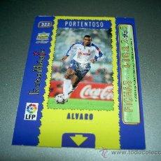 Cromos de Fútbol: 322 ALVARO MAGIC CARD ZARAGOZA CROMOS ALBUM MUNDICROMO LIGA FUTBOL 2004 2005 04 05. Lote 52947686