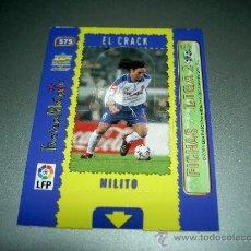 Cromos de Fútbol: 575 MILITO MAGIC CARD ZARAGOZA CROMOS ALBUM MUNDICROMO LIGA FUTBOL 2004-2005 04-05 . Lote 28919510