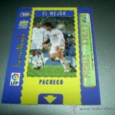 Cromos de Fútbol: MAGIC CARD 559 PACHECO ALBACETE CROMOS ALBUM MUNDICROMO FICHAS LIGA FUTBOL 2004-2005 04-05 . Lote 29114856