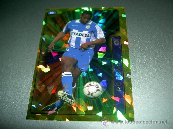 80 ANDRADE DIAMANTES DEPORTIVO CORUÑA CROMOS ALBUM MUNDICROMO FICHAS LIGA FUTBOL 2004-2005 04-05 (Coleccionismo Deportivo - Álbumes y Cromos de Deportes - Cromos de Fútbol)