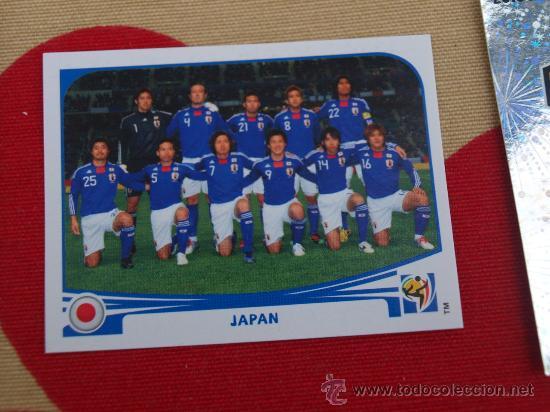 PANINI WORLD CUP 2010-Team Photo Japon Nº 372