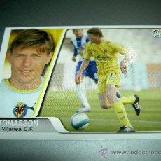 Cromos de Fútbol: 90 TOMASSON VILLARREAL CROMOS ALBUM EDICIONES ESTADIO MUNDICROMO LIGA FUTBOL 2007 2008 07 08. Lote 222254370
