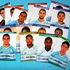 Cromos de Fútbol: R.C. CELTA - TOP LIGA 2003 - MUNDICROMO - 15 CROMOS DEL EQUIPO NO REPETIDOS. Lote 29258014