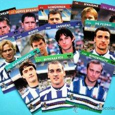 Cromos de Fútbol: REAL SOCIEDAD - TOP LIGA 2003 - MUNDICROMO - 12 CROMOS DEL EQUIPO NO REPETIDOS. Lote 29258065