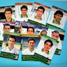 Cromos de Fútbol: REAL RACING SANTANDER - TOP LIGA 2003 - MUNDICROMO - 12 CROMOS DEL EQUIPO NO REPETIDOS. Lote 29258125