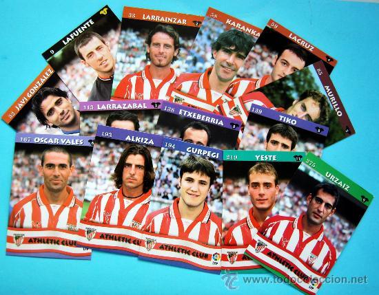 ATHLETIC CLUB - TOP LIGA 2003 - MUNDICROMO - 14 CROMOS DEL EQUIPO NO REPETIDOS (Coleccionismo Deportivo - Álbumes y Cromos de Deportes - Cromos de Fútbol)