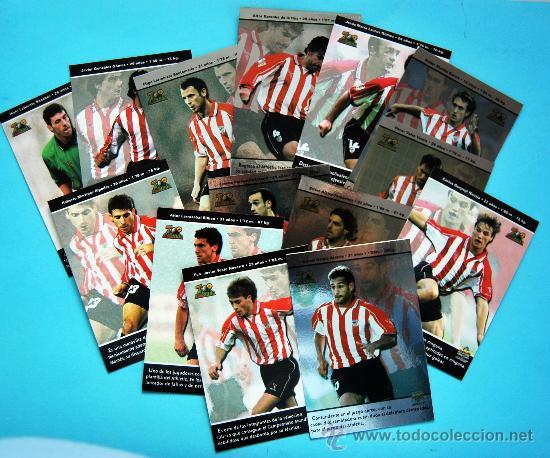 Cromos de Fútbol: ATHLETIC CLUB - TOP LIGA 2003 - Mundicromo - 14 cromos del equipo no repetidos - Foto 2 - 29258175