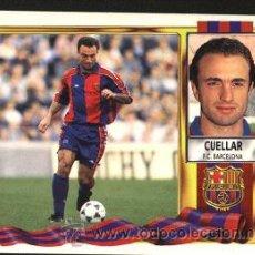 Cromos de Fútbol: CROMO FÚTBOL LIGA 1995-1996 ( 95-96 ) CUELLAR, BARCELONA. Lote 29679082