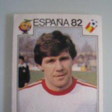 Cromos de Fútbol: 1 CROMO COLECCION ESPAÑA 82 PANINI - Nº 69 SMOLAREK POLONIA - NUNCA PEGADO. Lote 29681376