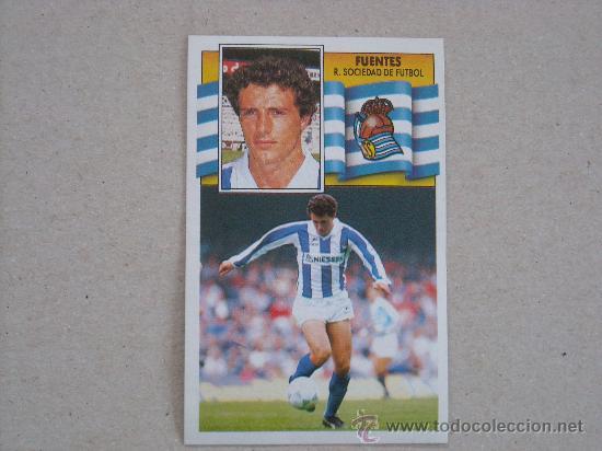 ESTE 90-91 FUENTES REAL SOCIEDAD 1990-1991 NUEVO (Coleccionismo Deportivo - Álbumes y Cromos de Deportes - Cromos de Fútbol)