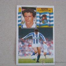 Cromos de Fútbol - ESTE 90-91 FUENTES REAL SOCIEDAD 1990-1991 NUEVO - 29749836