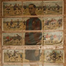 Cromos de Fútbol: 18 CROMOS FUTBOL, JUGADOR DEL BARCELONA, AGUSTIN SANCHO, COMPLETO , CHOCOLATES JAIME BOIX,. Lote 29754095