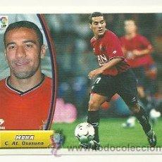 Cromos de Fútbol: EDICIONES ESTE 2003-2004 MOHA (OSASUNA) LIGA 03-04 CROMOS . Lote 29767159