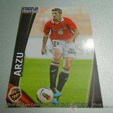 Cromos de Fútbol: 1080 ARZU GIMNASTIC CROMOS ALBUM MUNDICROMO LIGA FUTBOL QUIZ GAME PLATINUM 2011-2012 11-12. Lote 187487980