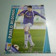 Cromos de Fútbol: 873 PABLO REDONDO XEREZ CROMOS ALBUM MUNDICROMO LIGA FUTBOL QUIZ GAME PLATINUM 2011 2012 11 12. Lote 187487931