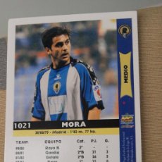 Cromos de Fútbol: 1021 MORA HERCULES MUNDICROMO FICHAS LIGA 2005-06 05-06 NUEVO. Lote 29896153