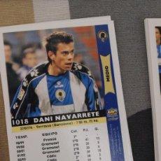 Cromos de Fútbol: 1018 DANI NAVARRETE HERCULES MUNDICROMO FICHAS LIGA 2005-06 05-06 NUEVO. Lote 30157794