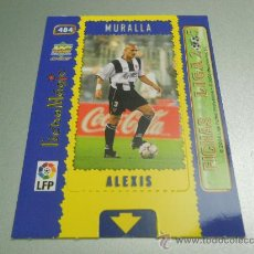 Cromos de Fútbol: CROMO MAGIC CARD 484 ALEXIS LEVANTE CROMOS ALBUM MUNDICROMO FICHAS LIGA FUTBOL 2004-2005 04-05 . Lote 30604727