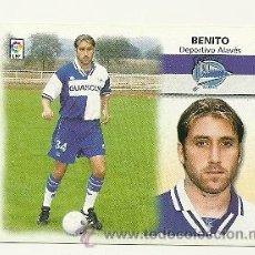 Cromos de Fútbol: EDICIONES ESTE 1999-2000 FICHAJE Nº32 BENITO (ALAVES) LIGA 99-00 CROMOS . Lote 30067755