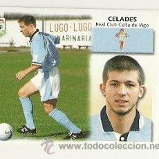 Cromos de Fútbol: EDICIONES ESTE 1999-2000 FICHAJE Nº33 CELADES (CELTA) LIGA 99-00 CROMOS . Lote 30067769
