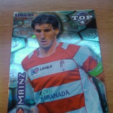 Cromos de Fútbol: 567 - MAINZ (GRANADA CF) AZUL LETRAS MUNDICROMO QUIZ GAME LIGA 2011-2012 - . Lote 30077205