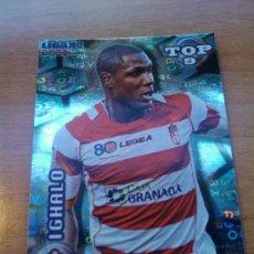 Cromos de Fútbol: 630 - IGHALO (GRANADA CF) AZUL LETRAS MUNDICROMO QUIZ GAME LIGA 2011-2012 - . Lote 30079135