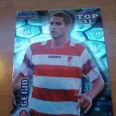 Cromos de Fútbol: 639 - GEIJO (GRANADA CF) AZUL LETRAS MUNDICROMO QUIZ GAME LIGA 2011-2012 - . Lote 30079219