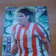 Figurine di Calcio: 626 - FALCAO (ATLETICO DE MADRID) AZUL MATE MUNDICROMO QUIZ GAME LIGA 2011-2012 - . Lote 30092871