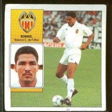 Cromos de Fútbol: CROMO DE FUTBOL EDICIONES ESTE LIGA 92-93 ROMMEL VALENCIA CLUB DE FUTBOL. Lote 30555847