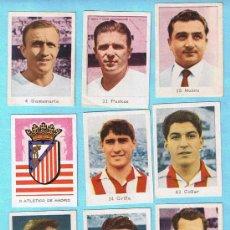 Cromos de Fútbol: LOTE DE CROMOS. CROMOS SUELTOS; 2,00 €. CAMPEONATOS NACIONALES DE FÚTBOL 1963. RUIZ ROMERO.. Lote 51158195