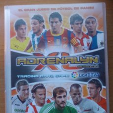 Cromos de Fútbol: COLECCION COMPLETA ADRENALYN XL BBVA 10/11 PANINI ARCHIVADOR + 490 CARDS TODO NUEVO 2010/2011. Lote 30124958