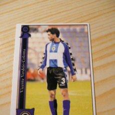 Cromos de Fútbol: 1013 VICENTE HERCULES MUNDICROMO FICHAS DE LA LIGA 2005-2006 05-06 PLATINUM . Lote 30140238