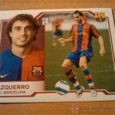 Cromos de Fútbol: EZQUERRO (FC BARCELONA) COLOCA CROMO ESTE LIGA 2007-2008 PANINI 07 08 - . Lote 33414493