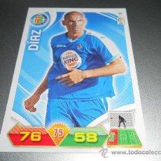 Cromos de Fútbol: CROMO 95 CATA DIAZ GETAFE CROMOS ALBUM ADRENALYN XL LIGA FUTBOL 2011 2012 11 12 PANINI. Lote 137234156