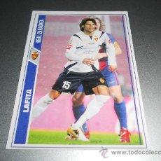 Cromos de Fútbol: CROMO BAJA 148 LAFITA ZARAGOZA CROMOS ALBUM MUNDICROMO FICHAS LIGA FUTBOL 2007-2008 07-08. Lote 97831967