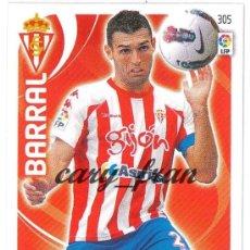 Cromos de Fútbol: ADRENALYN 2011 2012 11 12 SPORTING GIJON BARRAL . Lote 30312988