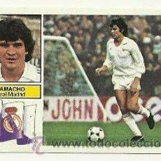 Cromos de Fútbol: EDICIONES ESTE 1982-1983 CAMACHO (REAL MADRID) SIN PUBLICIDAD LIGA 82-83 CROMOS . Lote 30406764
